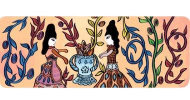 جوجل يحتفل بالفنانة الجزائرية باية محيى الدين