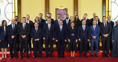 الرئيس السيسى يستقبل وفدا لرؤساء وممثلى عدد من كبرى صناديق الاستثمار العالمية
