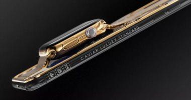 شركة تطرح نسخة فاخرة من أيفون XS ماكس مطلية بالذهب بـ21 ألف دولار