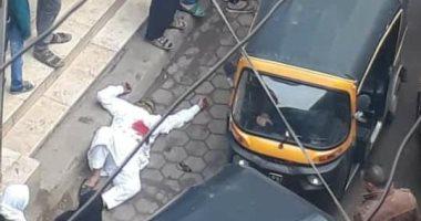 أول صورة للمتهم بالشروع فى قتل زوجته بالبساتين ومحاولة الانتحار