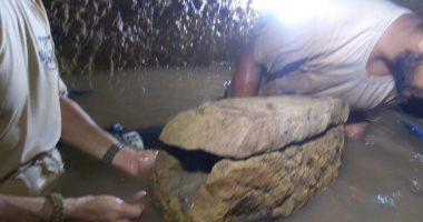 صور.. الآثار تعلن اكتشاف مقبرة ترجع لعصر الأسرة الـ18 فى كوم أمبو