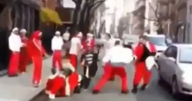 """الدنيا حصل فيها إيه؟.. سانتا كلوز مش بيوزع هدايا السنة دى """"فيديو"""""""