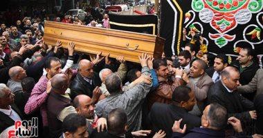 جنازة الراحل ابراهيم سعدة