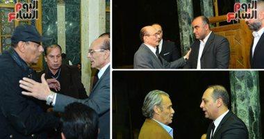 صور محمد صبحى وفاروق الفيشاوى وأحمد بدير ونجوم الفن يقدمون