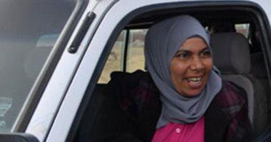 نحمدو سعيد عبد الرازق سائقة الميكروباص