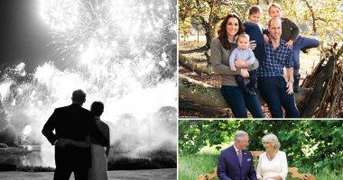 العائلة المالكة البريطانية فى صور تظهر لأول مرة