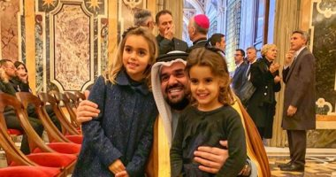 حسين الجسمى فى الفاتيكان
