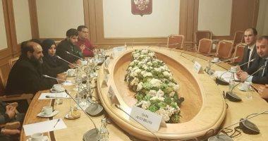 أعضاء برلمان ليبيا يبحثون مع مسئولة مجلس الدوما الروسى دعم الجيش الليبى