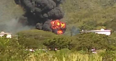 إصابة 7 أشخاص فى فنزويلا بسبب حريق فى محطة غاز