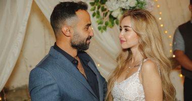 اليوم.. أحمد فهمى وهنا الزاهد يحتفلان بزفافهما