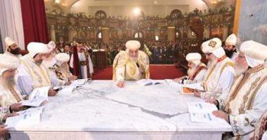 البابا تواضروس يدشن 3 مذابح ومعمودية بكنيسة العذراء ومارجرجس بالشروق