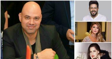 أمال ماهر ومحمد حماقى يختاران أغانى بتوقيع خالد تاج الدين فى ألبوماتهما