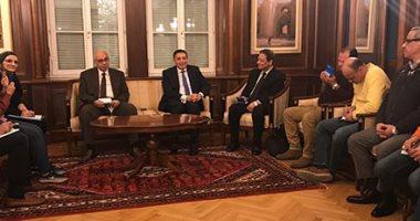 فيديو.. سفير مصر بالنمسا: الرئيس السيسى يشهد توقيع اتفاقيات فى التعليم والتكنولوجيا
