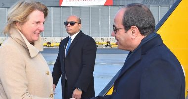 الرئيس السيسي ووزيرة خارجية النمسا