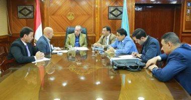 محافظ كفر الشيخ يلتقي بأعضاء مجلس النواب ويناقش شكاوى المواطنين