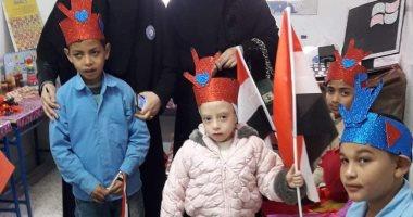 صور .. مدارس شمال سيناء تنفذ مبادرات لخدمة الطلبة ذوى الإحتياجات الخاصة