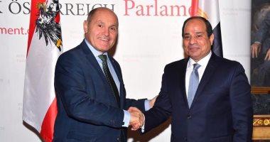 الرئيس عبد الفتاح السيسي خلال زيارته