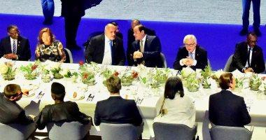صور.. السيسى يحضر مأدبة عشاء مع وفود المنتدى الأوروبى بدعوة من مستشار النمسا