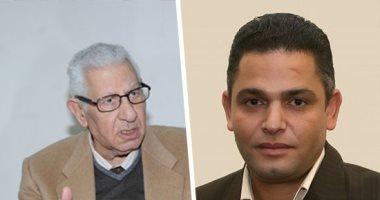 مكرم محمد أحمد وعبد الفتاح عبد المنعم