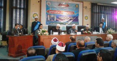 فرقة إندونيسية تنشد مدائح نبوية بكلية الدعوة الإسلامية بحضور المفتى