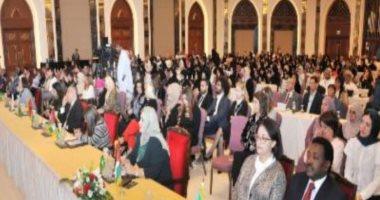 بدء أعمال المؤتمر السابع لمنظمة المرأة العربية فى مسقط.. صور