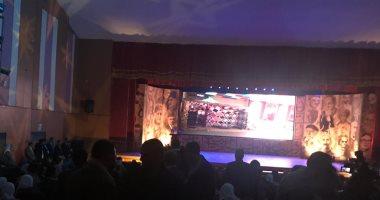 صور.. شكوى من سوء التنظيم فى افتتاح مؤتمر أدباء مصر بمطروح