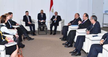 بسام راضى: السيسى أكد تطلع مصر للارتقاء بالعلاقات الثنائية مع سلوفينيا