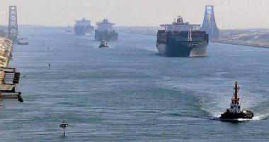 عبور 464 سفينة قناة السويس بحمولة 30.8 مليون طن خلال 9 أيام