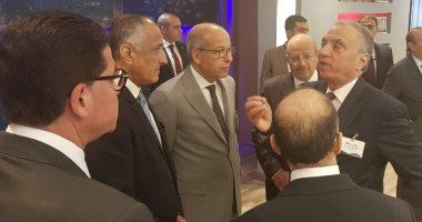 صور.. طارق عامر يشارك فى افتتاح المقر الرئيسى لبنك ABC مصر