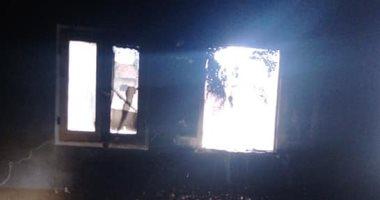 السيطرة على حريق التهم مسجد عباد الرحمن فى الشرقية.. صور