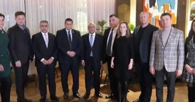 وفد مجلس النواب يلتقى ممثلى البرلمان الأوكرانى لبحث التعاون بين البلدين