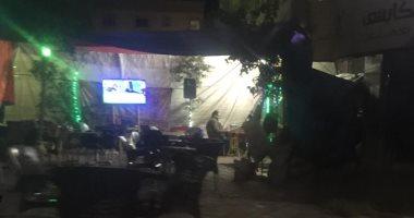 قارئ يشكو انتشار المقاهى المخالفة بمدينة العبور الحى الاول