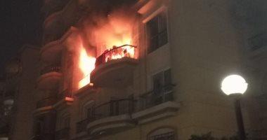 السيطرة على حريق داخل شقة سكنية فى مصر القديمة دون إصابات