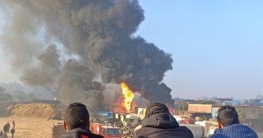 إخماد حريق بمخزن فى فندق بمنطقة مساكن الشيراتون