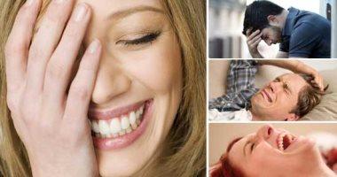 """""""الضحك والبكاء من غير سبب مش قلة أدب"""".. التأثير البصلى الكاذب يغرق مصابيه فى نوبات ضحك.. والرغبة فى ذرف الدموع عرض اكتئابى.. وعلاج الأعراض يتطلب تناول مضادات الاكتئاب"""