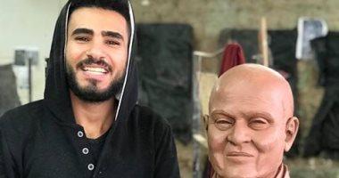 """قارئ يشارك صحافة المواطن بصور لموهبته فى فن النحت لـ""""الدكتور مجدي يعقوب"""""""