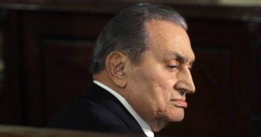 صور.. مبارك: المتسللون استعملوا السلاح بالعريش وهربوا الإخوان وحماس من السجون