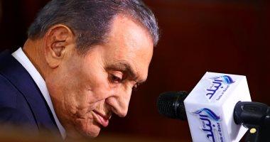 """فيديو.. أبرز لقطات من شهادة حسني مبارك فى محاكمة مرسي بـ""""اقتحام السجون"""""""