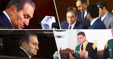 نص شهادة حسني مبارك ضد مرسى فى قضية اقتحام الحدود.. فيديو وصور