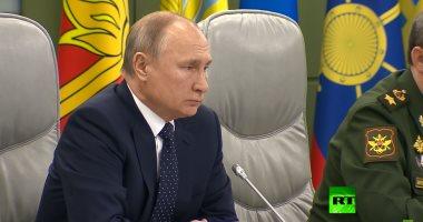 بوتين يدشن أول محطة عائمة لتخزين الغاز الطبيعى المسال فى كالينينجراد