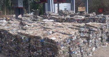 """صور.. """"اليوم السابع"""" داخل مصنع تدوير المخلفات الصلبة فى الصالحية بقنا"""