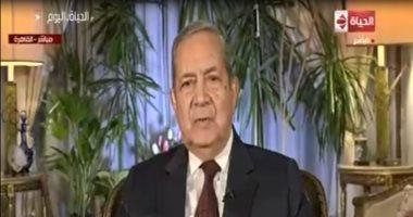 دبلوماسى سابق: مصر فى حالة تعبئة وطنية.. و90% من فيديوهات السوشيال مفبركة