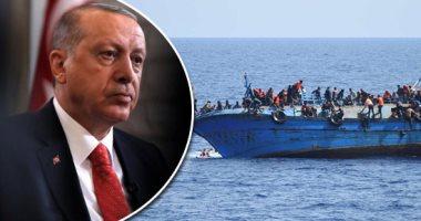 أردوغان تاجر البشر.. عمليات التهريب غير الشرعية من تركيا تجارة مربحة تحقق مليارات الدولارات منذ 2015.. 45 ألفاً و737 حالة عبرت الحدود فى أول 11 شهراً من 2018.. وأنقرة تسهل سفرَ 90 % من المهاجرين إلى أوروبا