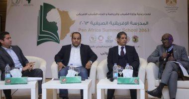 """""""مدرسة إفريقية 2063 """" تكرم سفير رواندا فى مصر كنموذج إفريقى ناجح"""