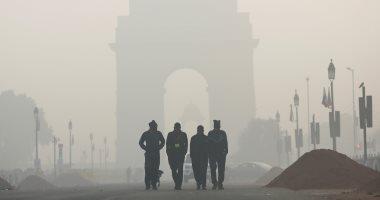 موجه من الضباب تضرب الهند وسط حالة من الطقس السيئ