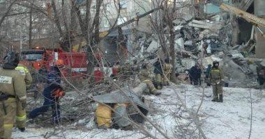 العثور على رضيع حى تحت الأنقاض بعد انفجار غازى فى روسيا