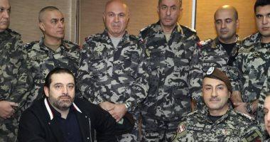 الحريري يبحث مع قائد الجيش اللبناني أوضاع الحدود الجنوبية للبلاد