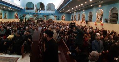 فيديو وصور.. الأقباط يشاركون فى صلوات رأس السنة بكنائس أسيوط