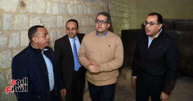 جولة رئيس الوزراء فى منطقة آثار سقارة