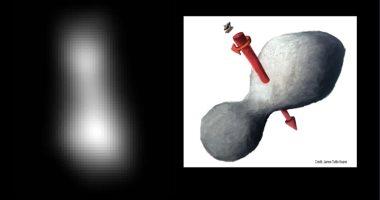 """صور جديدة لـ""""ناسا"""" ترصد شكلا غريبا لأبعد جسم يتم اكتشافه فى الفضاء"""